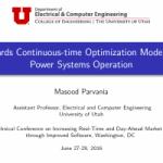 Presentation at FERC Software Conference